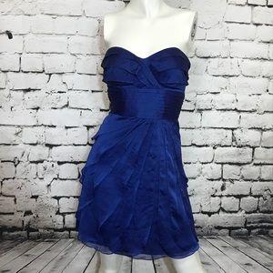 Size 4 layered ruffles tube dress by CACHE